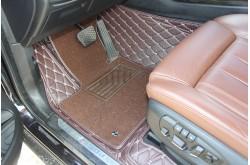 Кожаные коврики ромбом Audi Q3
