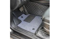 Кожаные коврики ромбом Audi