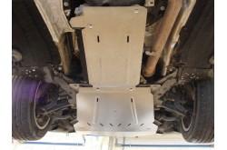 Комплект алюминиевых защит BMW X5 F15