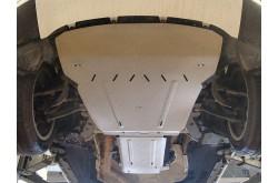 Комплект алюминиевых защит BMW X6 F16