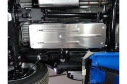 Алюминиевая защита бензобака Fiat Fullback