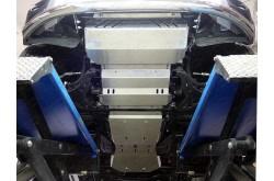 Комплект алюминиевых защит Fiat Fullback
