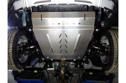 Алюминиевая защита картера и кпп Ford Explorer 5