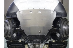 Комплект алюминиевых защит Ford Kuga 2