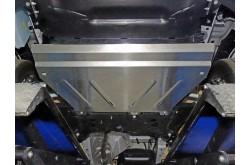 Алюминиевая защита картера и кпп Ford Transit