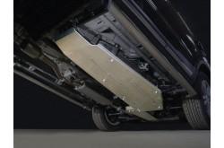 Алюминиевая защита бензобака Geely Atlas