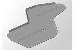 Комплект алюминиевых защит Honda CR-V 4