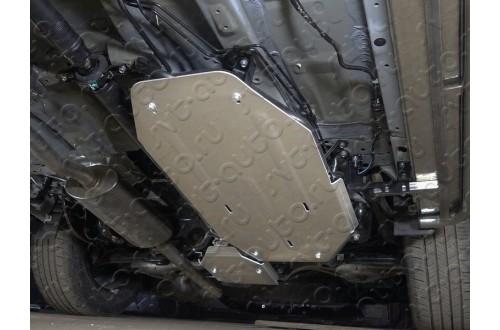 Алюминиевая защита бензобака Honda CR-V 5