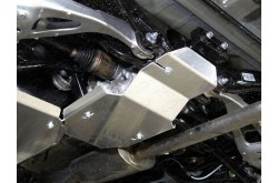 Алюминиевая защита заднего дифференциала Honda CR-V 5