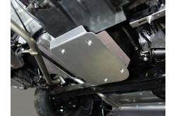 Алюминиевая защита бензобака Hyundai Creta