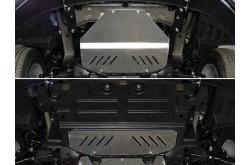 Алюминиевая защита картера Hyundai Starex H1