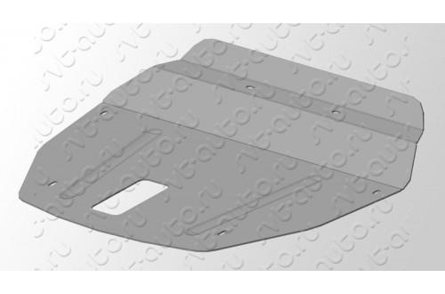 Комплект алюминиевых защит Hyundai ix35