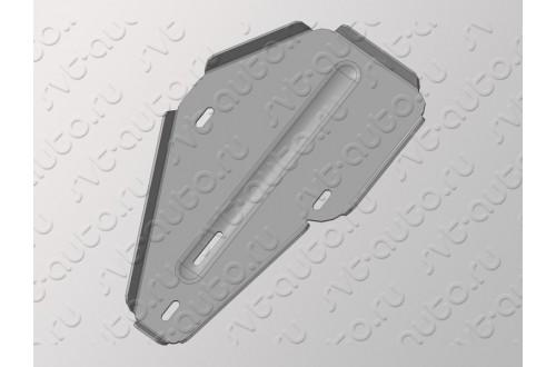 Алюминиевая защита заднего дифференциала Hyundai Santa Fe DM