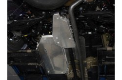 Алюминиевая защита бензобака Hyundai Santa Fe TM