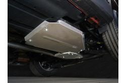 Алюминиевая защита дифференциала Hyundai Santa Fe TM