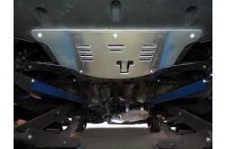 Комплект алюминиевых защит Hyundai Santa Fe TM