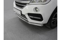 Защита переднего бампера Lifan X60