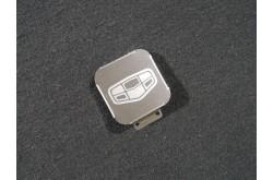Заглушка фаркопа с логотипом Geely