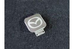 Заглушка фаркопа с логотипом Mazda
