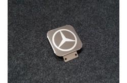 Заглушка фаркопа с логотипом Mercedes Benz