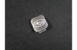 Заглушка фаркопа с логотипом Subaru