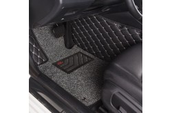 Кожаные коврики премиум Audi A8 D4 Long