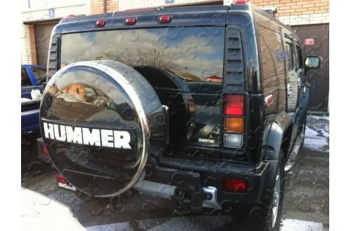 Бокс запаски HUMMER с надписью