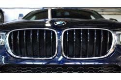 Сетка в бампер с установкой BMW X4
