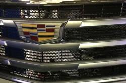 Сетка в бампер с установкой Cadillac Escalade 4
