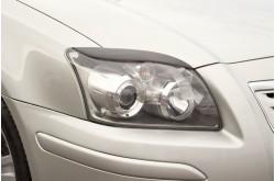 Реснички на передние фары Toyota Avensis 2