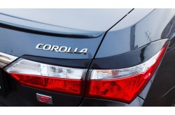 Реснички на задние фонари Toyota Corolla E160