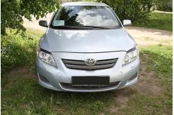 Реснички на передние фары Toyota Corolla E150