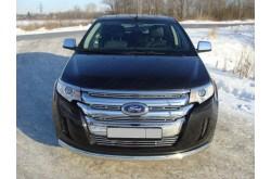 Защита переднего бампера Ford Edge