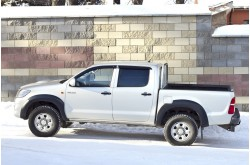 Расширители арок Toyota Hilux 7 рестайлинг