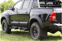 Расширители арок Toyota Hilux 8 дорестайлинг 50мм