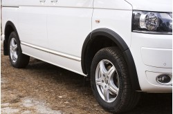 Накладки на колёсные арки Volkswagen Transporter T5 рестайлинг