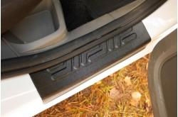 Накладки на внутренние пороги дверей Ford Focus 2
