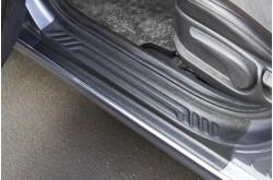 Накладки на внутренние пороги дверей Hyundai Solaris 2