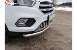Защита переднего бампера Ford Kuga 2 рестайлинг