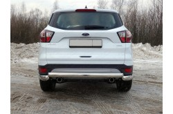 Защита заднего бампера Ford Kuga 2 рестайлинг