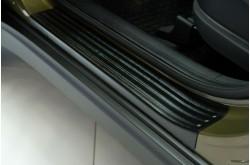 Накладки на внутренние пороги дверей KIA Sportage 4 дорестайлинг