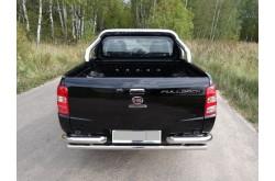 Уголки заднего бампера Fiat Fullback
