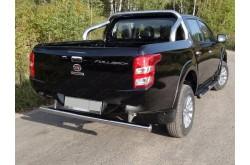Защита заднего бампера Fiat Fullback