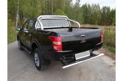 Защита заднего бампера с накладкой Fiat Fullback