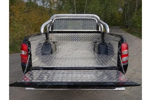 Защитный алюминиевый вкладыш в кузовFiat Fullback