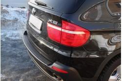 Накладка на задний бампер BMW X5 E70 рестайлинг