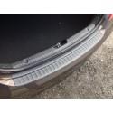 Накладка на задний бампер Hyundai Solaris седан рестайлинг