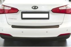 Накладка на задний бампер KIA Cerato 3 седан
