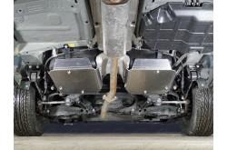 Алюминиевая защита бензобака Geely Emgrand X7 рестайлинг