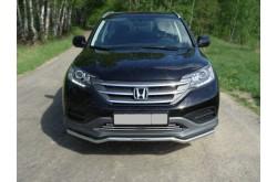 Защита переднего бампера Honda CR-V 4